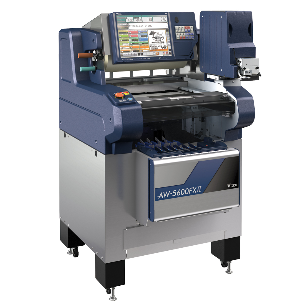 Integrated Semi-Auto Weigh Wrap Price Labeller