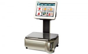 Self Service Scale with Touch Screen - TSSM5000BS