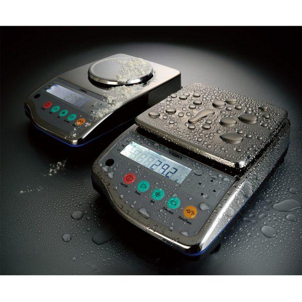 Splash Resistant Precision Balances