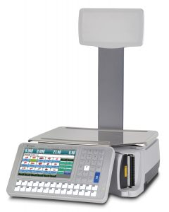 Touch Screen Weigh Price Labelling Scale with Pole Display - SM5300P