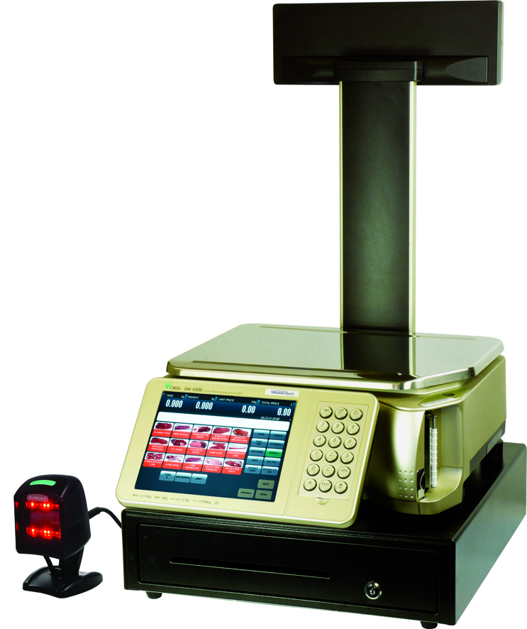 Intelligent Weigh Price Labeller with ECR