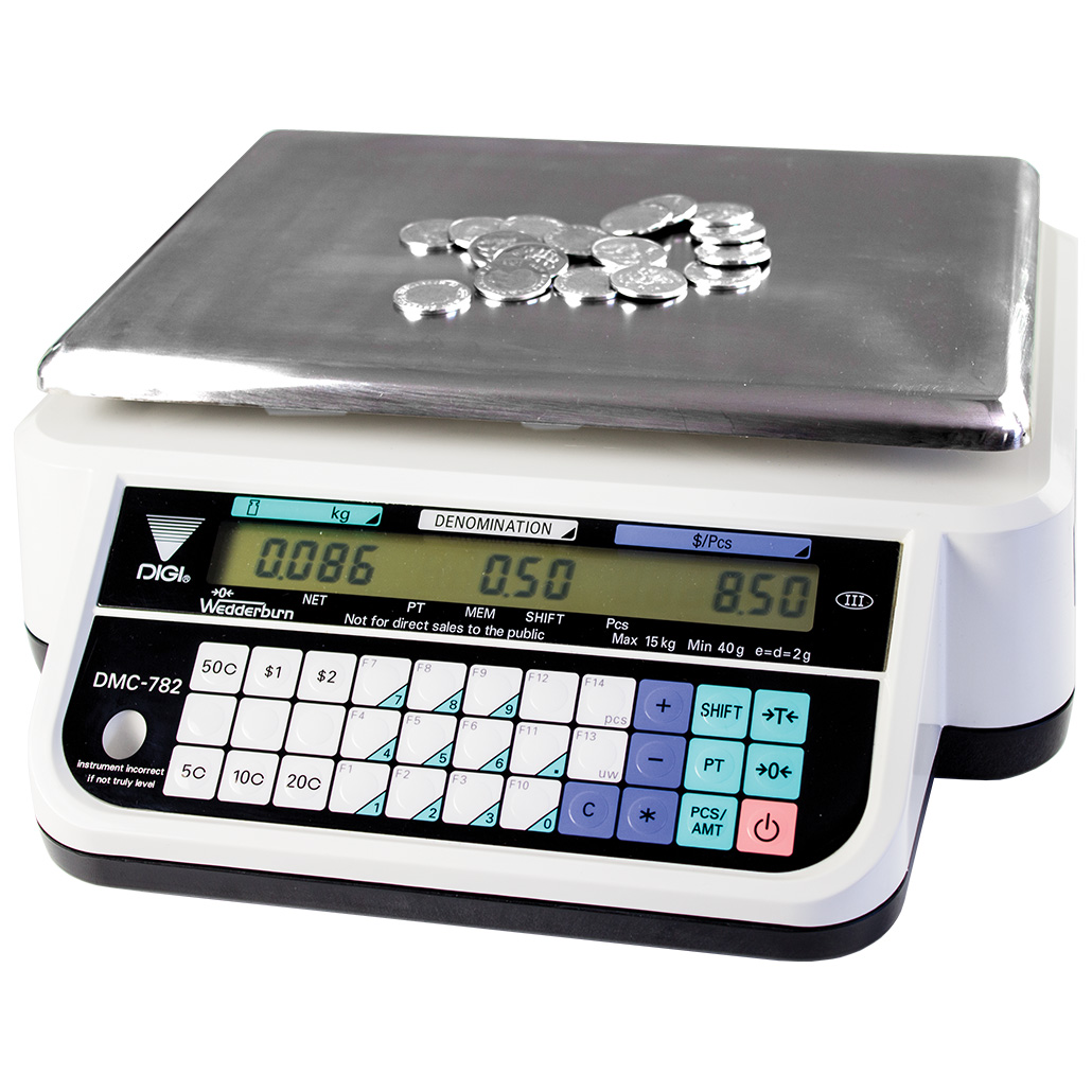Coin Counting Scales