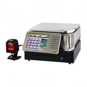 Intelligent Weigh Price Labeller with ECR - TSSM5500B ECR