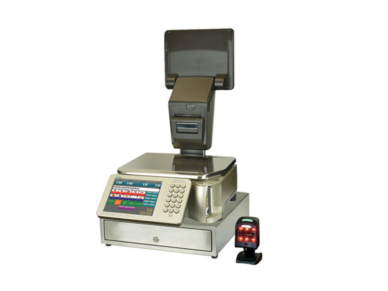 Intelligent Weigh Price Labeller with Cash Register Features