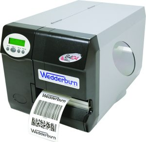 Direct thermal and thermal transfer label printer