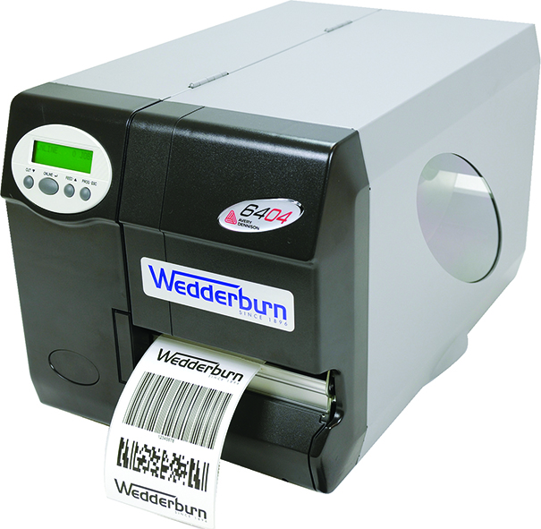 Direct thermal and thermal transfer label printer