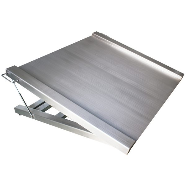 Liftable Washdown Stainless Steel Trolley Weighing Scale