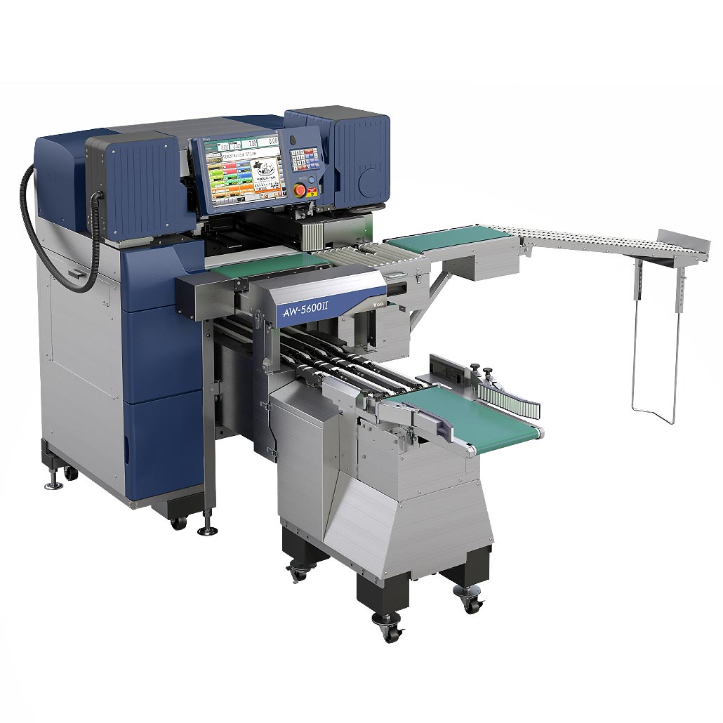 Fully Integrated Weigh Wrap Labeller with Automatic Infeed
