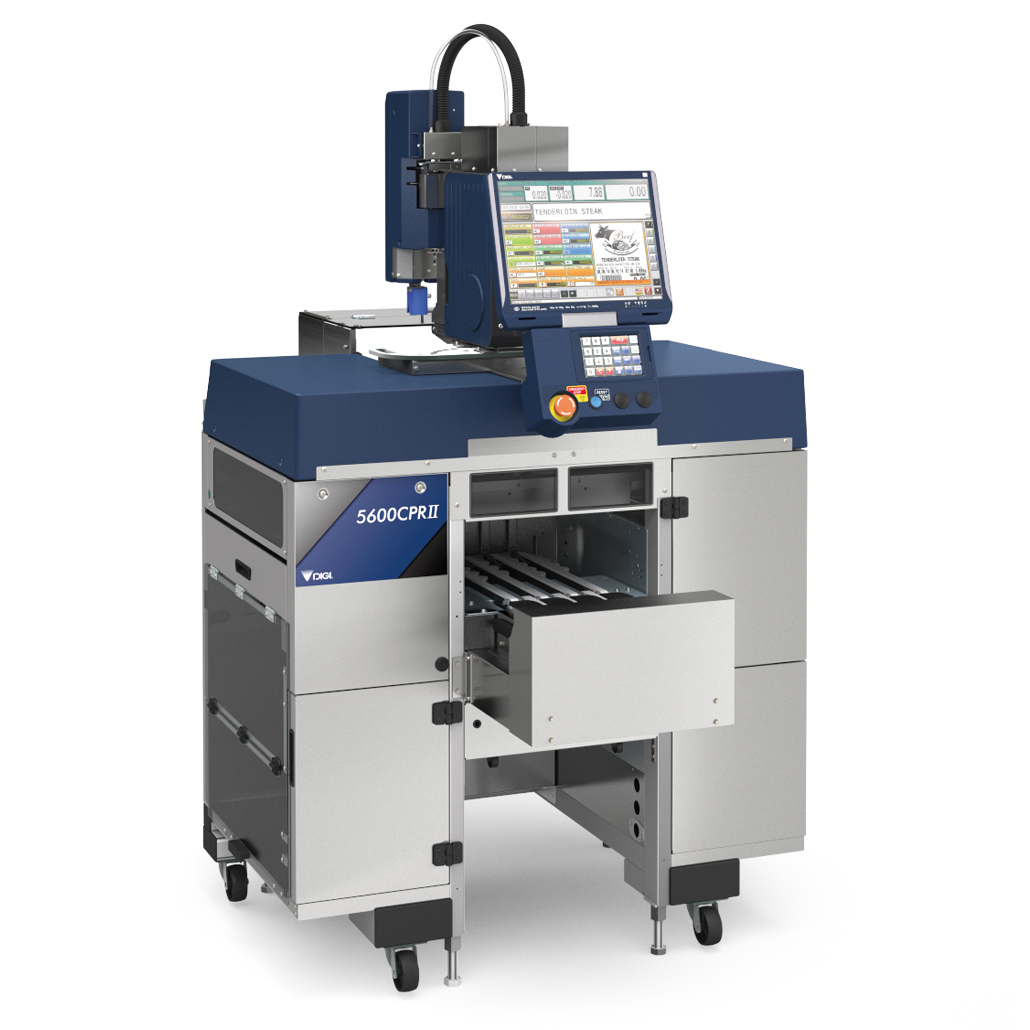 Integrated In-Line Weigh Wrap Price Labeller